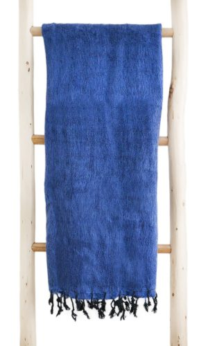 Tissus de laine de Jeans Bleu (180 x 80 cm) -commander en ligne Shawls4you.fr