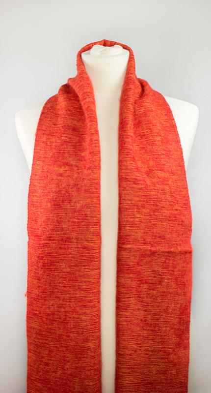 Echarpe Népal à partir de laine de yak - rouge (30 x 180 cm) | Shawls4you.de |