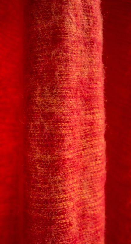 Echarpe Népal à partir de laine de yak - rouge (30 x 180 cm)