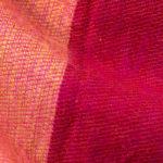 Echarpe Népal rayé rose rouge (30 x 180 cm)1