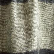 Foulard Yak Noir Gris (30 x 180 cm)2