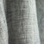 Népal écharpe grise ( 180 x 30 cm )1