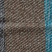 Népal Couverture Bleu, Gris ( 220 x 120 cm)2