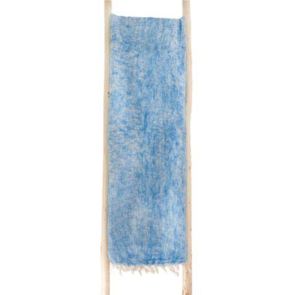 Népal Plaid bleu clair- Commande en ligne – Shawls4you.fr