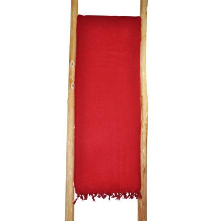 Népal Plaid rouge – Commande en ligne – Shawls4you.fr