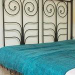 Népal Plaid turquoise- Commande en ligne – Shawls4you.fr