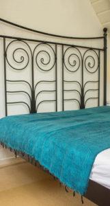 Népal Plaid turquoise- Commande en ligne - Shawls4you.fr