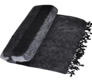 Népal couverture en noir et blanc - shawls4you.fr