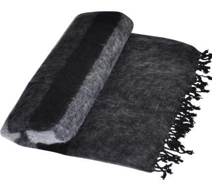 Népal couverture en noir et blanc – shawls4you.fr
