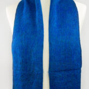 Népal foulard bleu foncé ( 180 x 30 cm ) | Shawls4you.de |