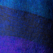 Népal foulard bleu violet (30 x 180 cm)