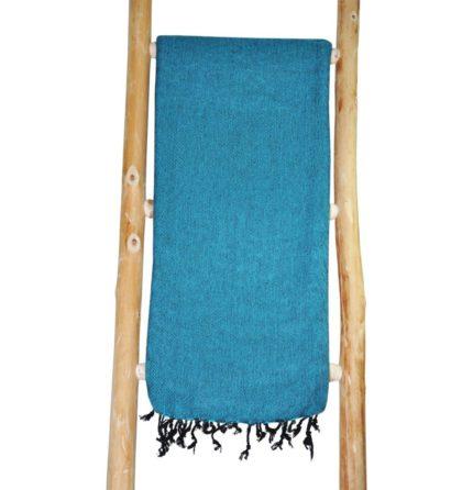 Nepal Foulard Turquoise shawls4you.fr