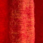 Nepal rouge drap de laine (180 x 80 cm)1