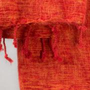 Nepal rouge drap de laine (180 x 80 cm)2