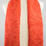 Nepal rouge drap de laine (180 x 80 cm)3