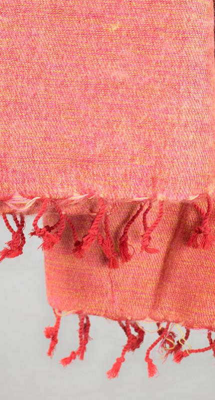 Rose, wrap rayé rouge (180 x 80 cm)3