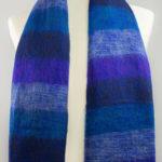 Tibet Scarf Blue Violet (180 x 80 cm) -commander en ligne | Shawls4you.fr |