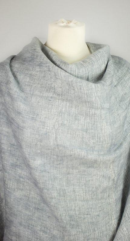 Tibet chale gris (180 x 80 cm) -commander en ligne | Shawls4you.fr |