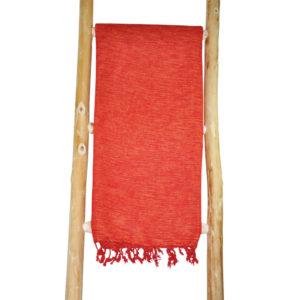 Népal orange foulard