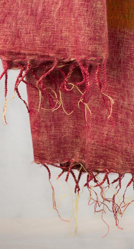 Tibetan Wrap Rose (180 x 80 cm)3