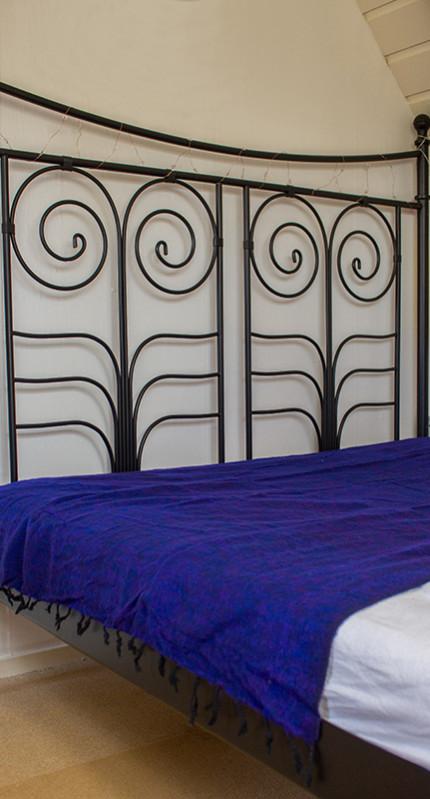 Tibetan couverture vivante Violet ( 220 x 120 cm)1