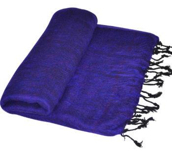 Tibetan couverture vivante Violet