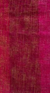 Tibetan couverture vivante rayée rose( 220 x 120 cm)