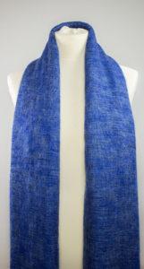 Tissus de laine de Yak Bleu (180 x 80 cm) -commander en ligne | Shawls4you.fr |