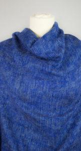 Tissus de laine de Yak Bleu (180 x 80 cm)