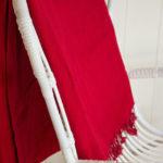 Yak couverture de laine rouge Népal( 220 x 120 cm) – 14