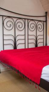 Yak couverture de laine rouge Népal( 220 x 120 cm)