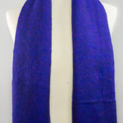 Yak laine châle violet (180 x 80 cm)2