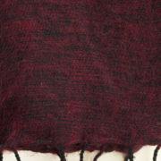 laine tibétaine foulard sombre (30 x 180 cm)