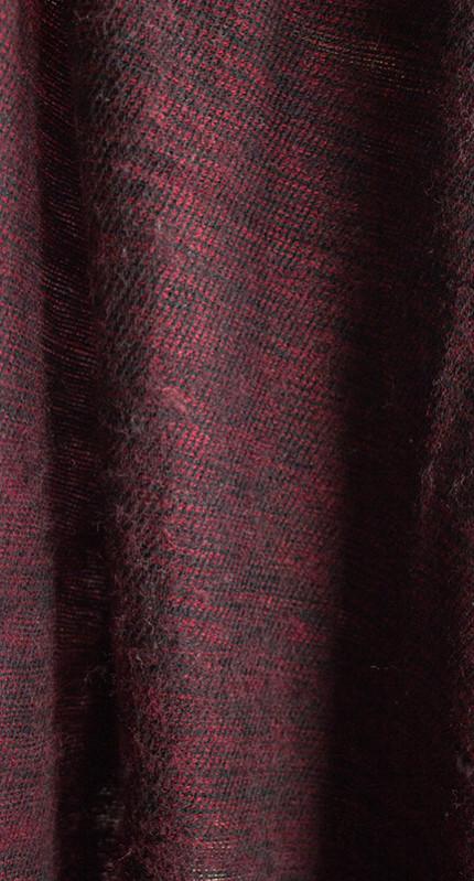 laine tibétaine foulard sombre (30 x 180 cm)2