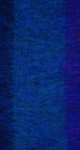 yak couverture de laine rayé bleu (220 x 120 cm)