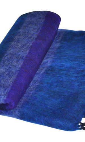 Népal Plaid Jeans bleu rayé - Commande en ligne -Shawls4you.fr
