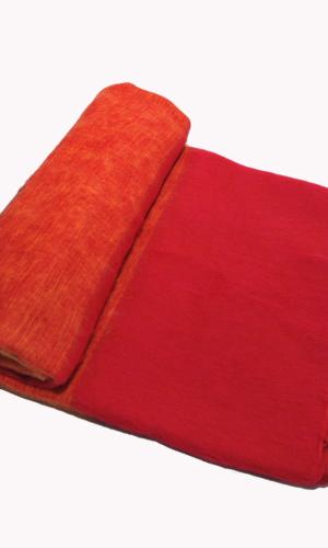 Népal Plaid rayé rouge - Commande en ligne - Shawls4you.fr