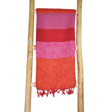 Népal châle Rose Orange – Commande en ligne – Shawls4you.fr