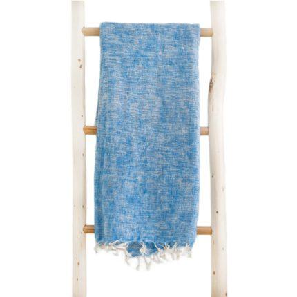 Népal châle bleu clair -Commande en ligne – Shawls4you.fr