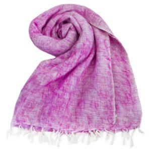Népal châle rose- Commande en ligne - Shawls4you.fr