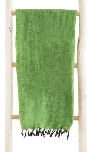 Népal châle vert d'herbe - Commande en ligne - Shawls4you.fr