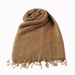 Nepal Shawl Beige- Commande en ligne - Shawls4you.fr