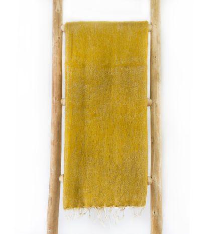 Népal châle jaune maïs- Commande en ligne – Shawls4you.fr