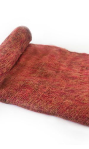Népal Plaid brun rouge- Commande en ligne - Shawls4you.fr