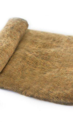 Népal Plaid brun doré- Commande en ligne - Shawls4you.fr